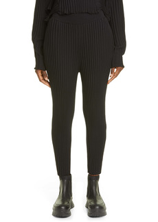 Stella McCartney Rib Wool Blend Sweater Pants