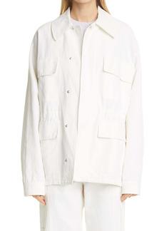Stella McCartney Sam Oversize Shirt Jacket