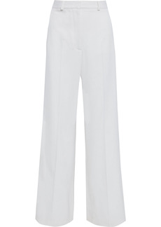 Stella Mccartney Woman Dolce Wool-twill Wide-leg Pants Ivory