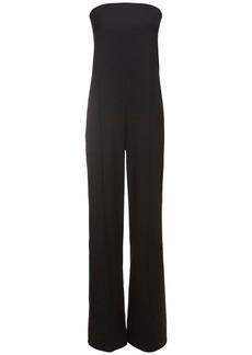 Stella McCartney Straplesstailored Wool Jumpsuit