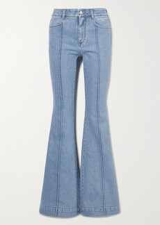 Stella McCartney Net Sustain The '70s High-rise Flared Jeans