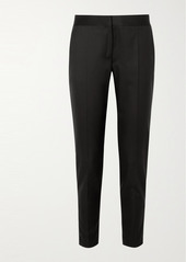 Stella McCartney Vivian Zip-detailed Wool Straight-leg Pants