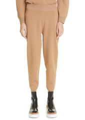 Stella McCartney Compact Knit Ankle Joggers