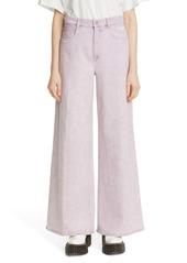 Stella McCartney Flare Leg Organic Cotton Jeans