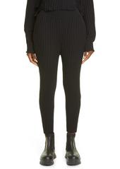 Women's Stella Mccartney Rib Wool Blend Sweater Pants