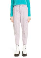 Stella McCartney Stretch Organic Cotton Crop Tapered Jeans