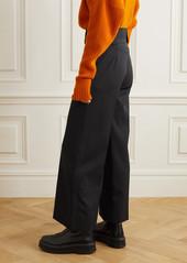 Stella McCartney Wool-blend Wide-leg Pants