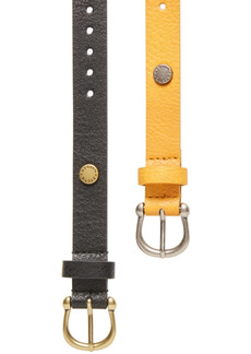Steve Madden 2-Pk. Single-Prong Belts
