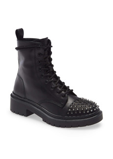 Steve Madden Barbed Lace-Up Boot (Women)