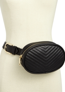 Steve Madden Chevron Quilted Plus-Size Fanny Pack