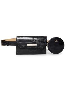 Steve Madden Croc-Embossed Multi-Bag Belt Bag