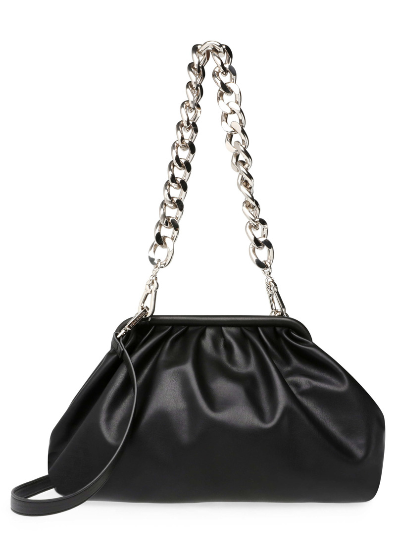 Steve Madden Daring Faux Leather Clutch