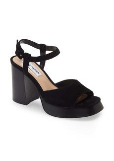 Steve Madden Inclusive Suede Block Heel Sandal (Women)
