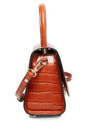 Steve Madden Lacie Mini Croc Embossed Faux Leather Crossbody Bag