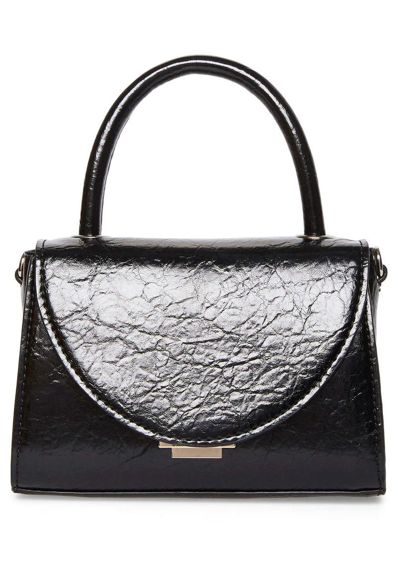 Steve Madden Mini Faux Leather Crossbody Bag
