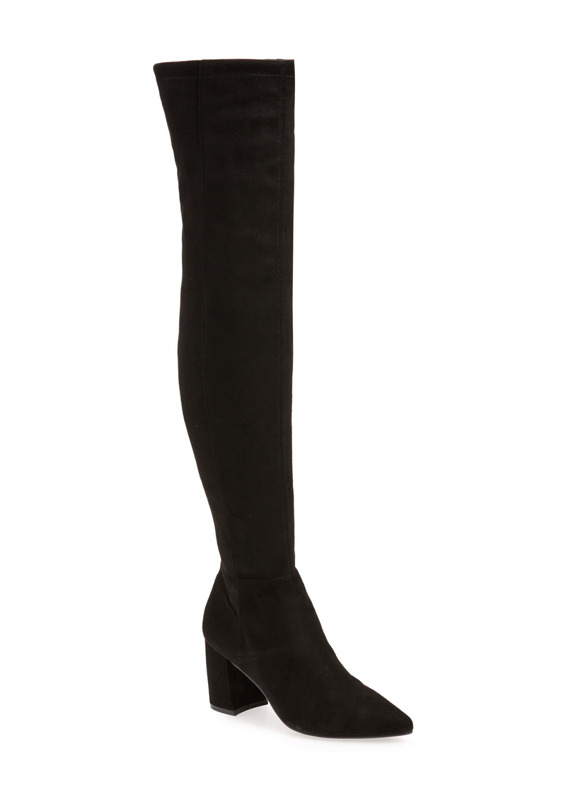 Steve Madden Nifty Pointed Toe Over the Knee Boot (Women)
