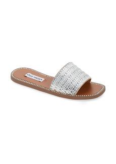 Steve Madden Nira Embellished Slide Sandal (Women)