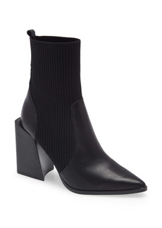 Steve Madden Tackle Pointed Toe Bootie (Women)