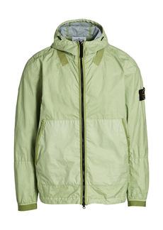 Stone Island Nylon Hooded Zip-Up Jacket