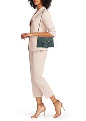 Strathberry Box Crescent Leather Shoulder Bag