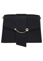 Strathberry Crescent Calfskin Leather Shoulder Bag