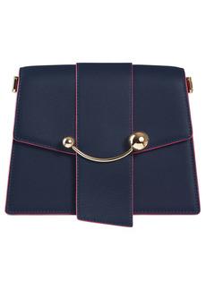 Strathberry Crescent Leather Shoulder Bag