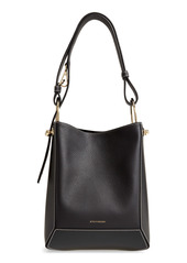 Strathberry Lana Midi Leather Bucket Bag