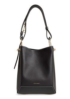 Strathberry Lana Midi Leather Bucket Bag