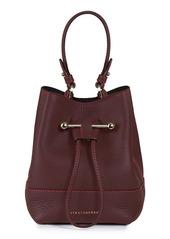 Strathberry Lana Osette Leather Crossbody Bucket Bag
