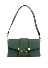 Strathberry Mini Bag Strathberry Mini Crescent Leather Shoulder Bag
