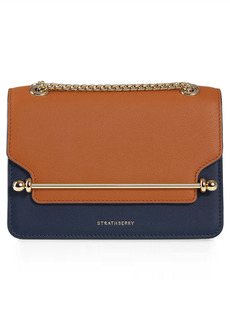 Strathberry Mini East/West Colorblock Leather Crossbody Bag