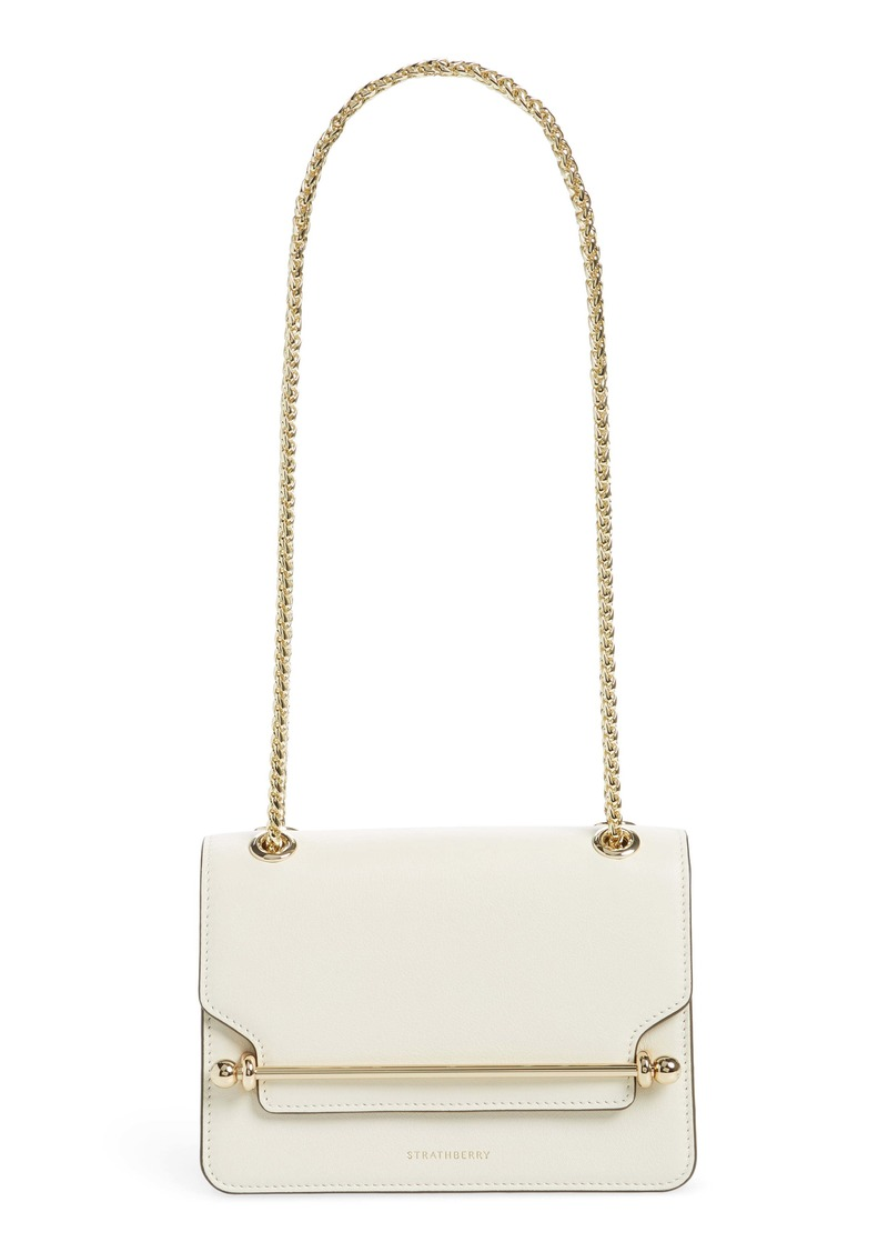 Strathberry Mini East/West Leather Crossbody Bag