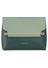 Strathberry Mini Stylist Bicolor Leather Crossbody Bag