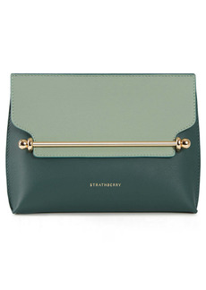 Strathberry Mini Stylist Bicolor Leather Crossbody Bag