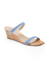 Stuart Weitzman Aleena Wedge Slide Sandal (Women)