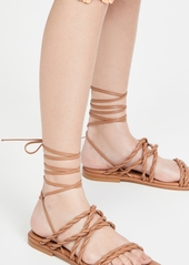 Stuart Weitzman Calypso Lace Up Sandals