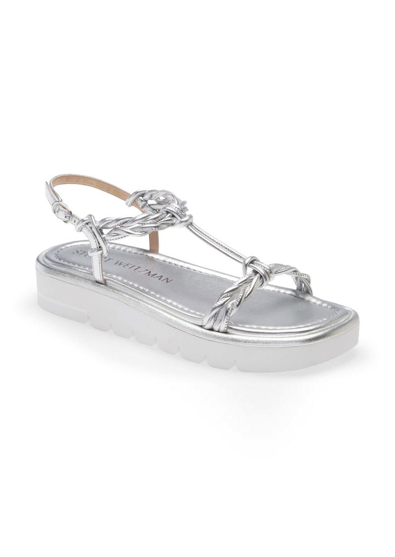 Stuart Weitzman Calypso Strappy Platform Sandal (Women)