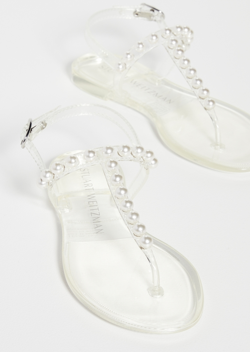 Stuart Weitzman Goldie Jelly Sandals