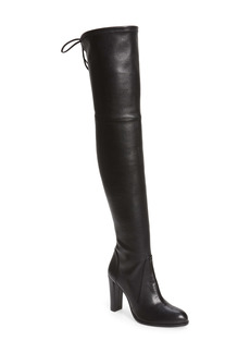 Stuart Weitzman Highland Over The Knee Boot (Women)