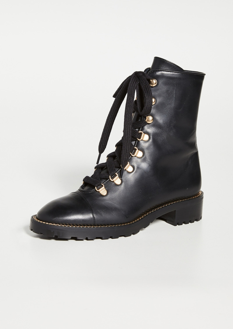 Stuart Weitzman Kolbie Lace Up Boots
