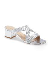 Stuart Weitzman Rosie Block Heel Slide Sandal (Women)