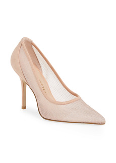 Stuart Weitzman Tasha Pointed Toe Pump (Women)