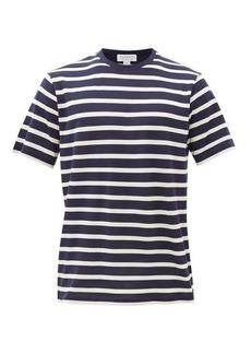 Sunspel Breton-stripe cotton-jersey T-shirt
