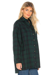 superdown Audriana Oversized Flannel Top