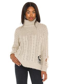 superdown Corin Distressed Sweater