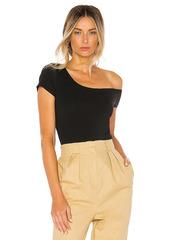 superdown Felicia Asymmetrical Bodysuit
