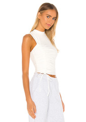 superdown Halsey Ruched Racer Top