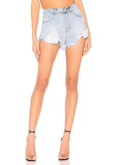 superdown Kenzie Star Denim Shorts