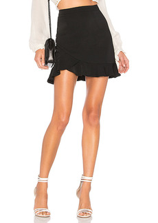 superdown Milan Ruffle Mini Skirt