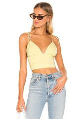 superdown Petunia Tie Strap Top